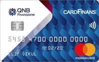 QNB Finansbank CardFinans Kredi Kartı