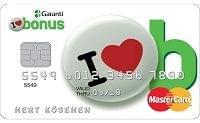 Garanti BBVA Bonus Card Kredi Kartı