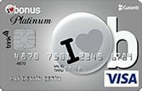 Bonus Platinum Trink Card