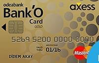 Odeabank Bank'O Card Axess Gold