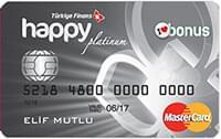 Türkiye Finans Katılım Bankası Happy Card Platinum