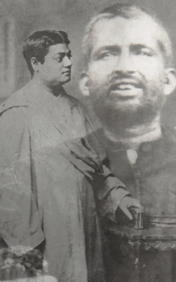 Svámi Vivékánanda a jeho mistr Rámakrišna Paramahamsa - hluboký vztah mezi studentem a mistrem.