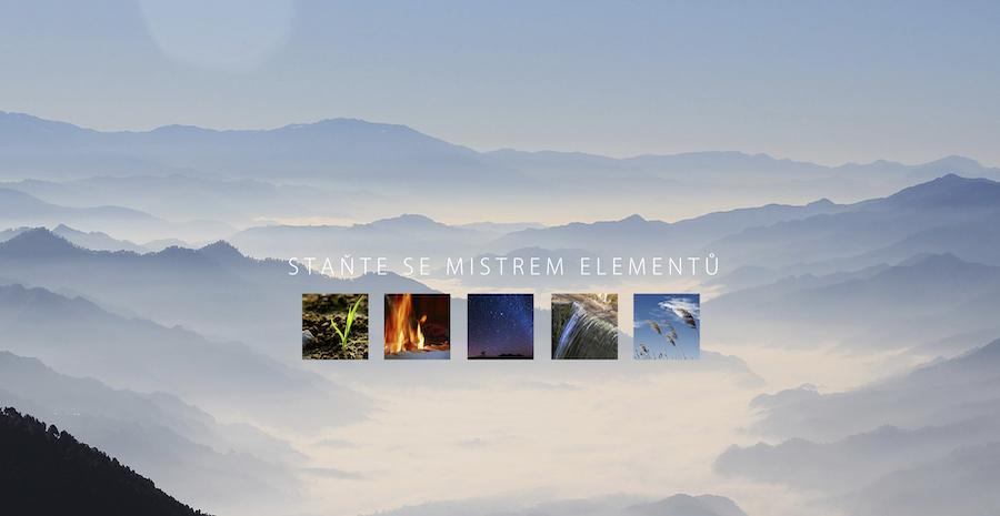 Fuenf elemente heading cz