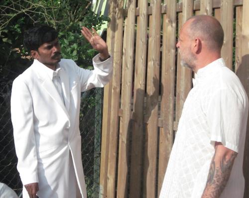 Sri Kaleshwar bei einer Vaastu Beratung in Deutschland