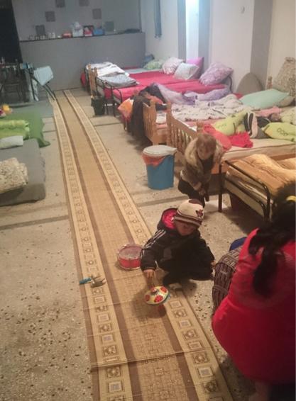 Sicherer Raum für Mütter und Kinder