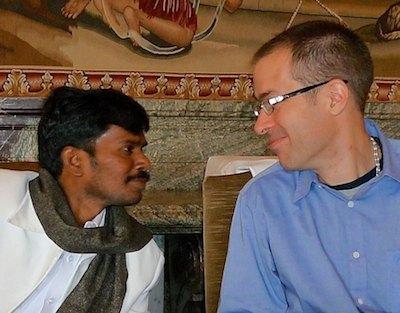 Sri Kaleshwar und Tobias