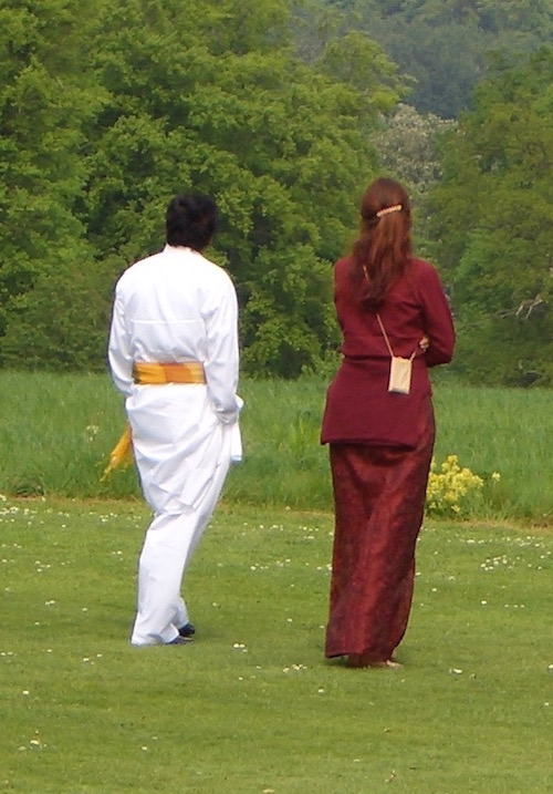 Sri Kaleshwar und Tatyanna in London, 2008