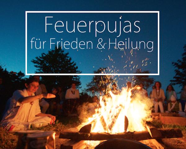 Feuerpujas für Frieden und Heilung in deiner Nähe