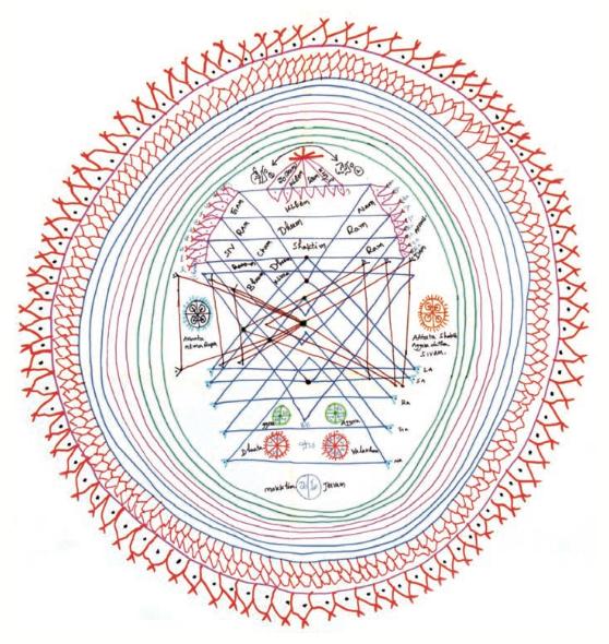 Von Sri Kaleshwar gezeichnet