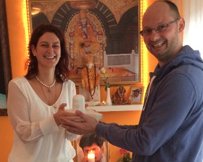 Neujahr 2017 - Ein Shiva Lingam für Brünn...