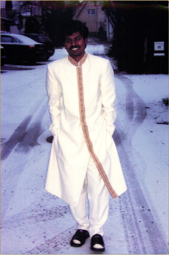 Sri Kaleshwar in Einhausen, Winter 2003