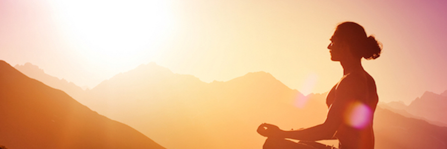 Heading meditation