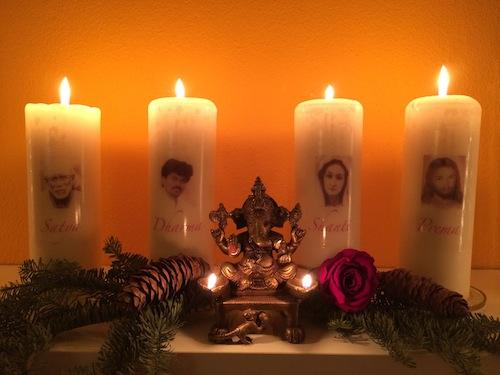 Satya, Dharma, Shanti, Prema