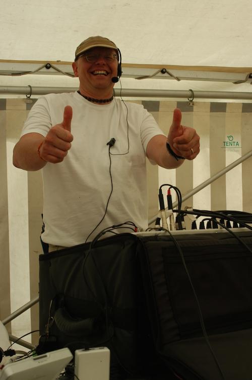 Rolf doing Seva - Schweibenalp 2007