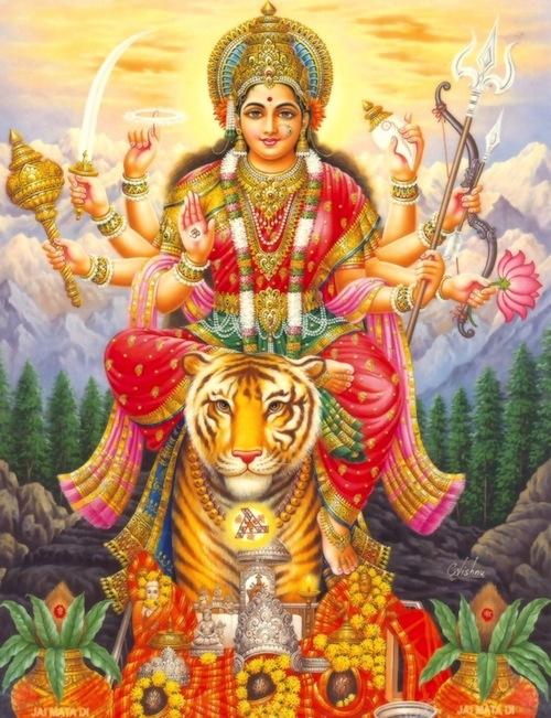 Durgana hän taistelee hyvän puolesta.