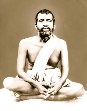 偉大な聖者ラーマクリシュナ・パラマハンサの公式写真