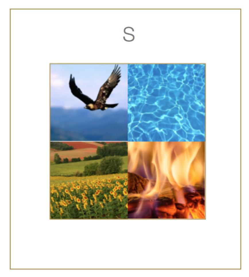 Elementy v kvadrantech