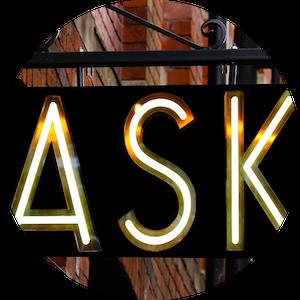Fragen button