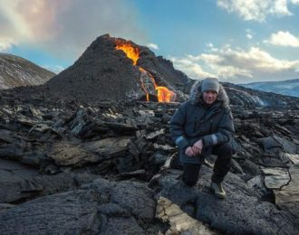 Hike to the Active Volcano