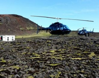 Inside The Volcano – Helicopter tour