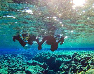 Golden Circle & Snorkeling in Silfra Minibus Tour | Free Underwater Photos
