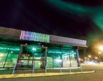 Entrance to Aurora Reykjavík