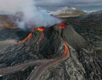 Active Volcano tour and Blue Lagoon admission