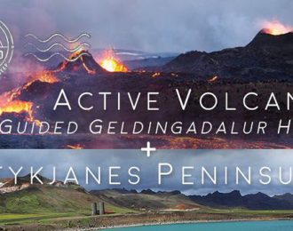 Active volcano, Geldingadalur Hike & Reykjanes Peninsula – Private Tour
