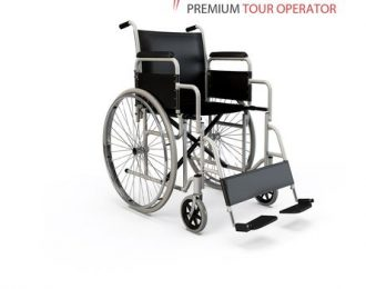 Prime: Wheelchair accessible airport transfer.