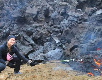 A magical date with a volcano