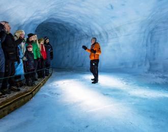 Into The Glacier – From Klaki Base Camp