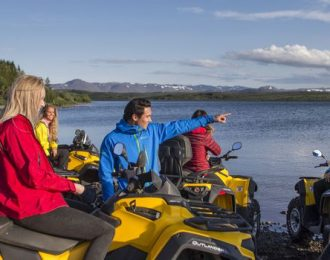 1 Hour Reykjavik Peak ATV Adventure