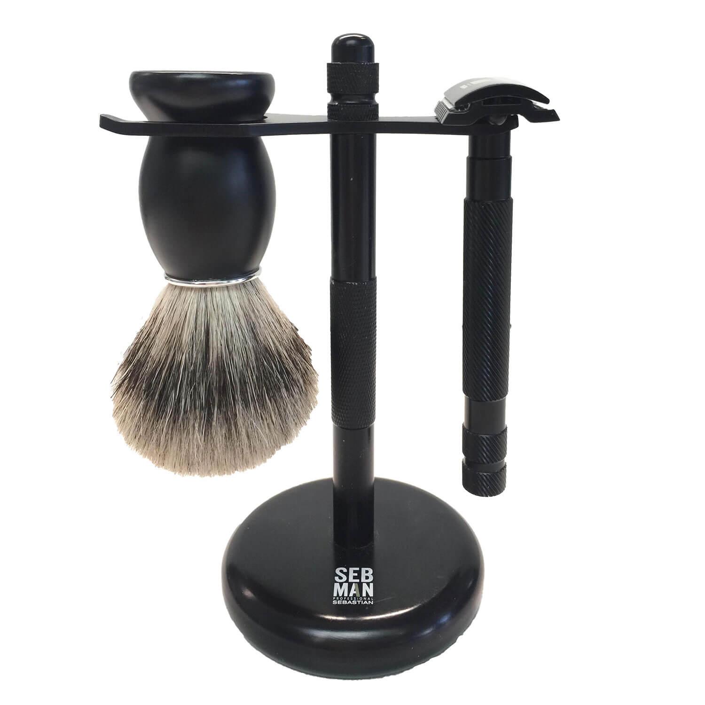 Shaving Set & Grooming Bowl