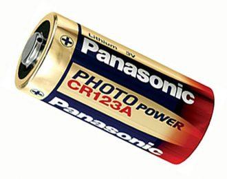 Rafhlaða Panasonic CR123A