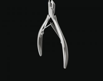 professional cuticle nippers half jaw 5 mm