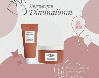 Body Strategist D-age Cream + Peel Scrub