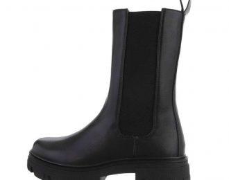 Boots svartir háir DE317