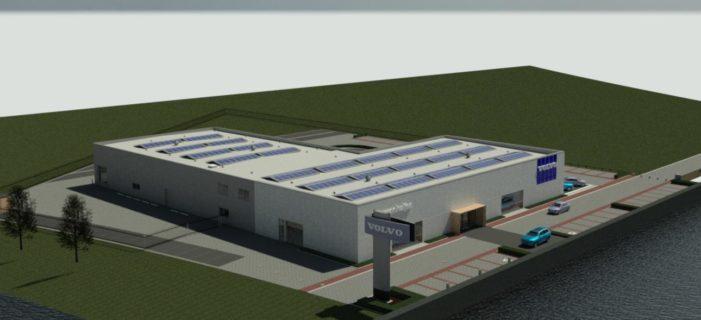 Nieuwbouw Volvo Nieuwenhuijse Zwolle
