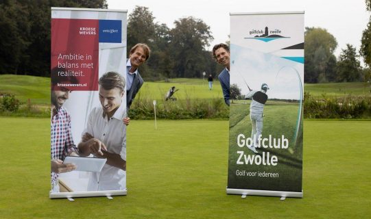 KroeseWevers tekent partnerschap met Golfclub Zwolle