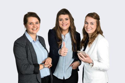 Groepsfoto recruiter dames