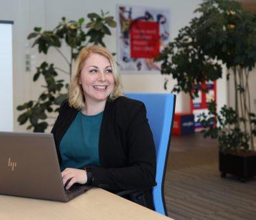 De ambitie van Catharina, senior assistent accountant samenstel in Zwolle