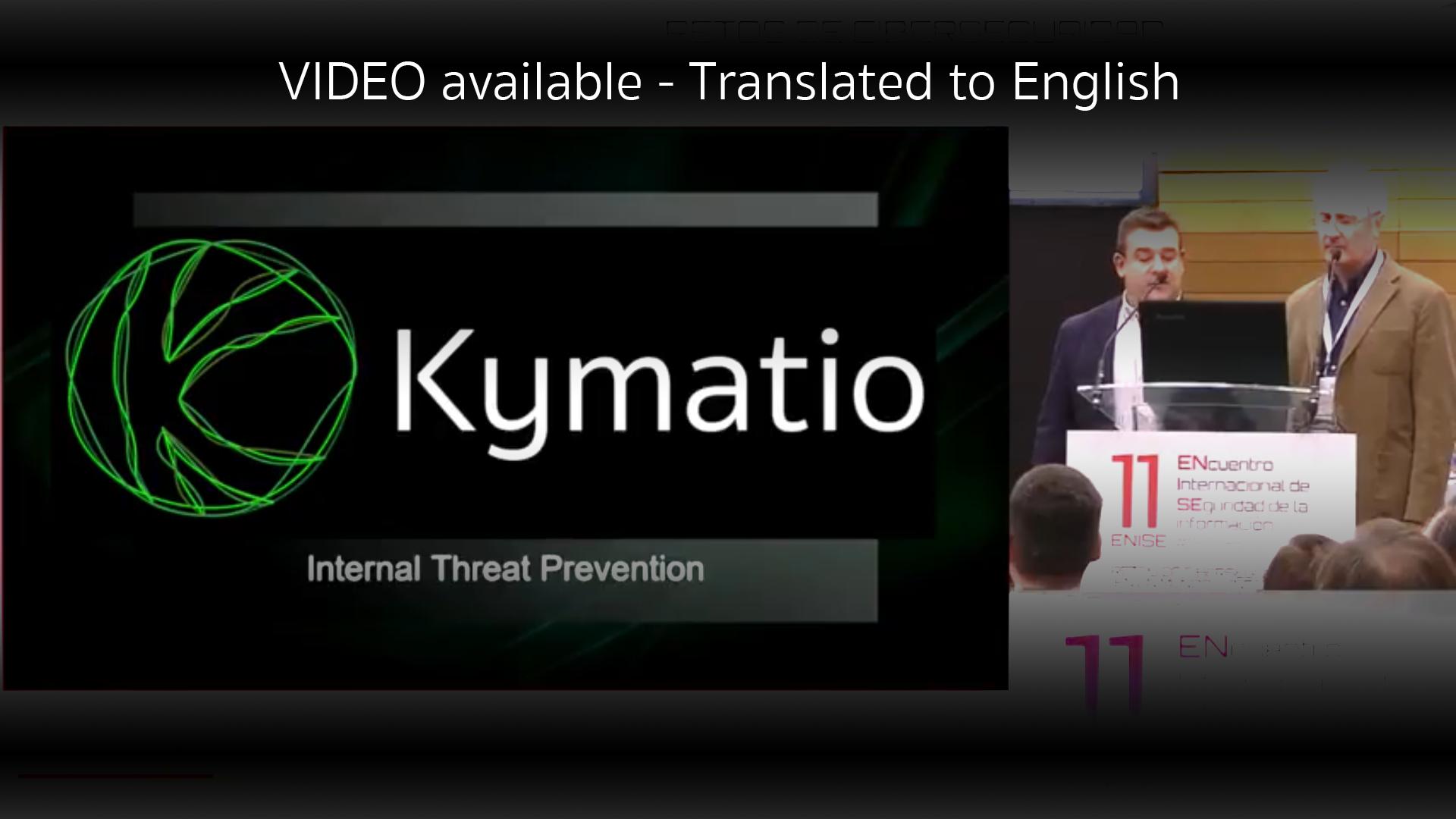 INCIBE Kymatio Ventures