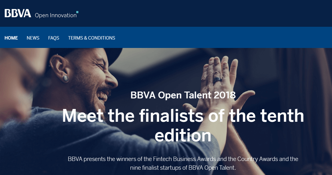 BBVA Open Talent 20181