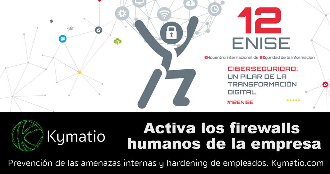 Participación de Kymatio en el 12 ENISE del Instituto Nacional de Ciberseguridad. 3