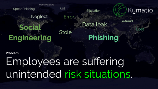 Problem Employees are suffering unintended risk situations.
