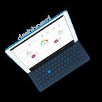 Kymatio dashboard iPad