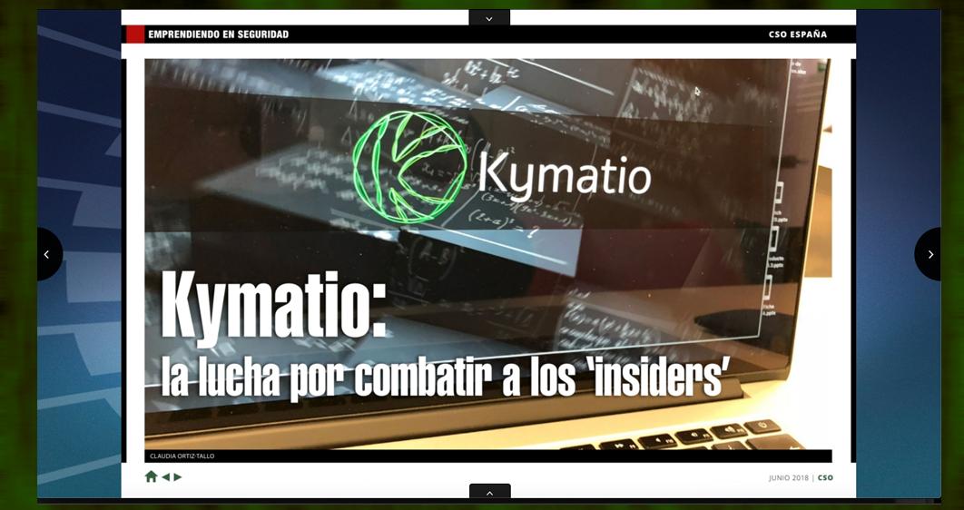 Kymatio en Computerworld CSO