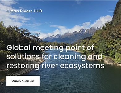 Global meeting point of solutions for cleaning and restoring river ecosystems