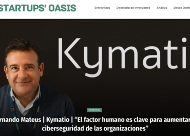 Startup Oasis EntrevistaExpress | Fernando Mateus y Kymatio - Activación de firewalls humanos