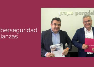 Acuerdo de partnership entre Grupo Paradell y Kymatio para potenciar la ciberseguridad de sus clientes